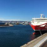 départ des bateau de croisière pour la Corse depuis Marseille