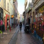 Balade du côté de cours julien à Marseille