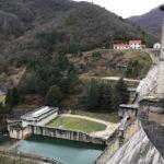 vue depuis le barrage vers la vallée