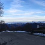 vue sur les montagnes depuis le Village d'Iraty