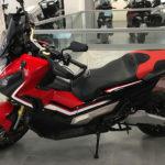 Honda XADV 750 rouge et noir