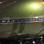 vert métallisé chez Harley Davidson