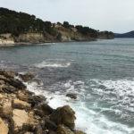 Essai moto à la Ciotat, au sud de Marseille