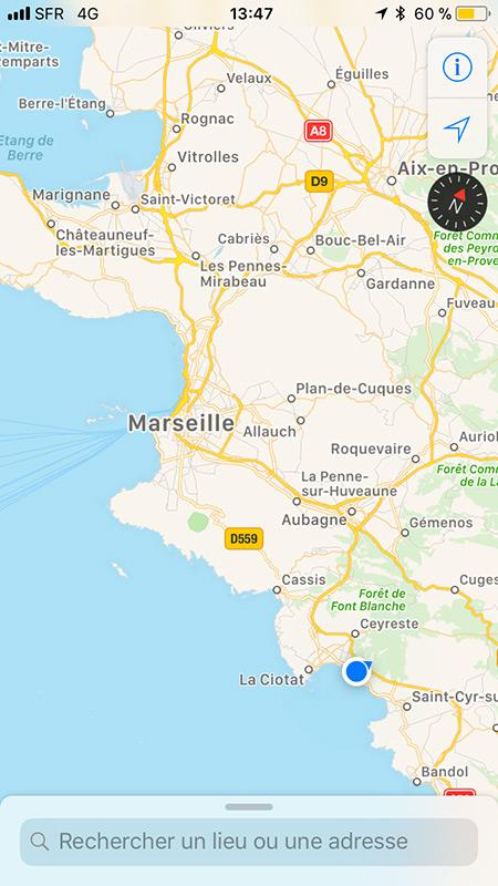 Essai moto Marseille