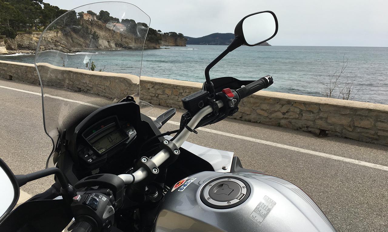 A bord du Crosstourer Honda