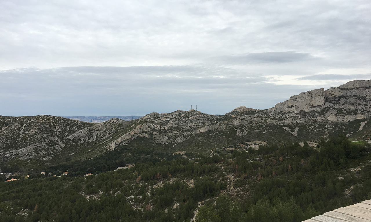 Petite route depuis Marseille vers la Ciotat
