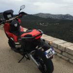 XADV 750 : idéal pour se balade en ville et en dehors de la ville