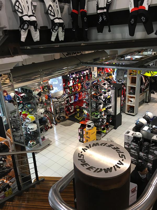 Speedway : accessoire moto