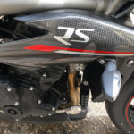 Carbone sur le RS 1050 Speed Triple