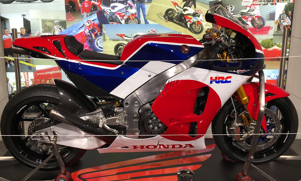 Honda HRC chez VIP Moto Marseille