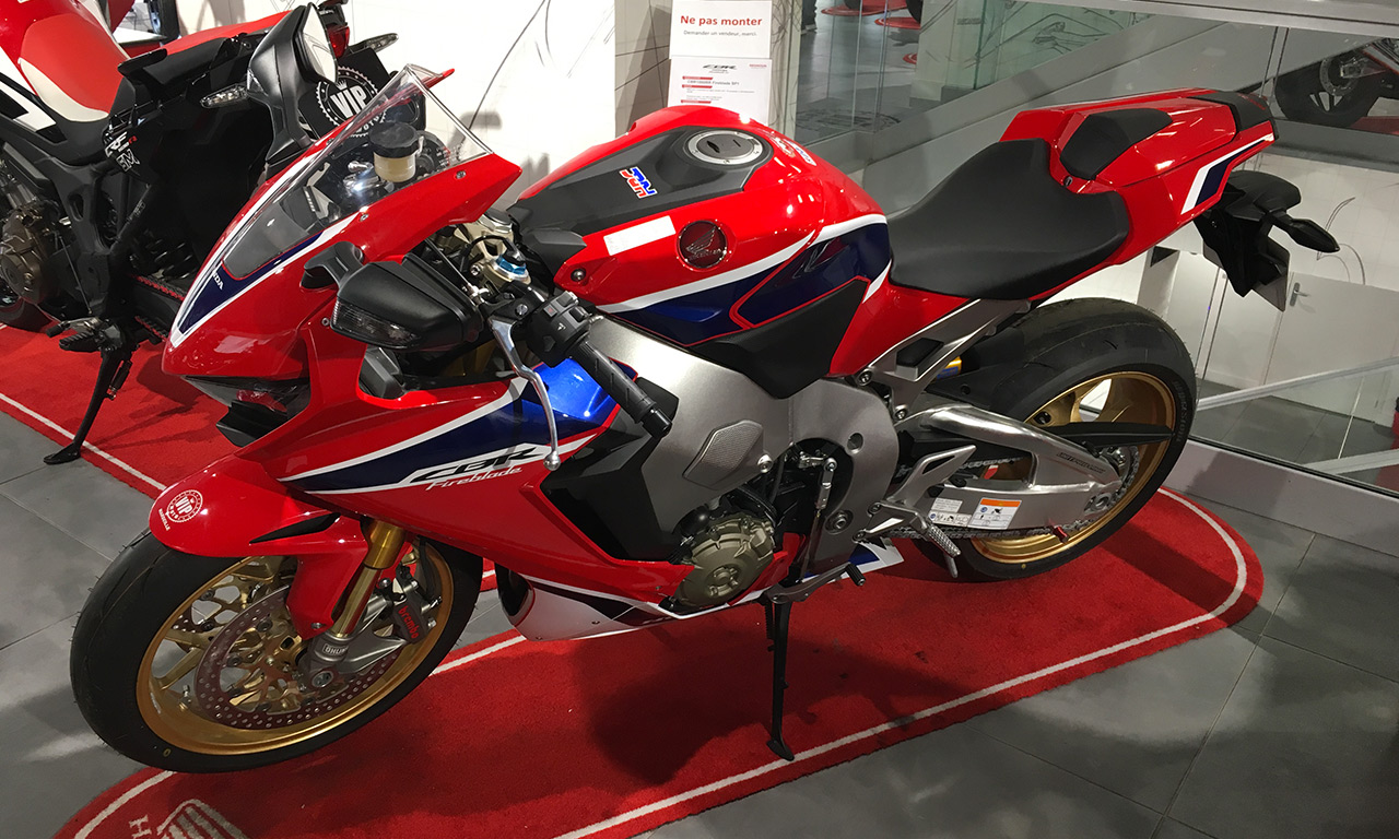 Acheter une moto sportive CBR Fireblade à Marseille