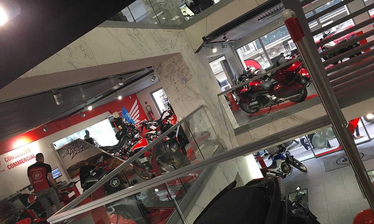 Concession Honda : VIP Moto Marseille