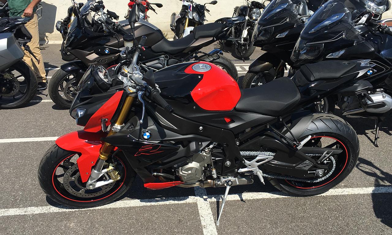 Rouge et noire cette S1000R 2018