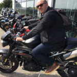 David Jazt sur le Speed Triple 1050 RS