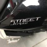 Street Triple 765 RS noire