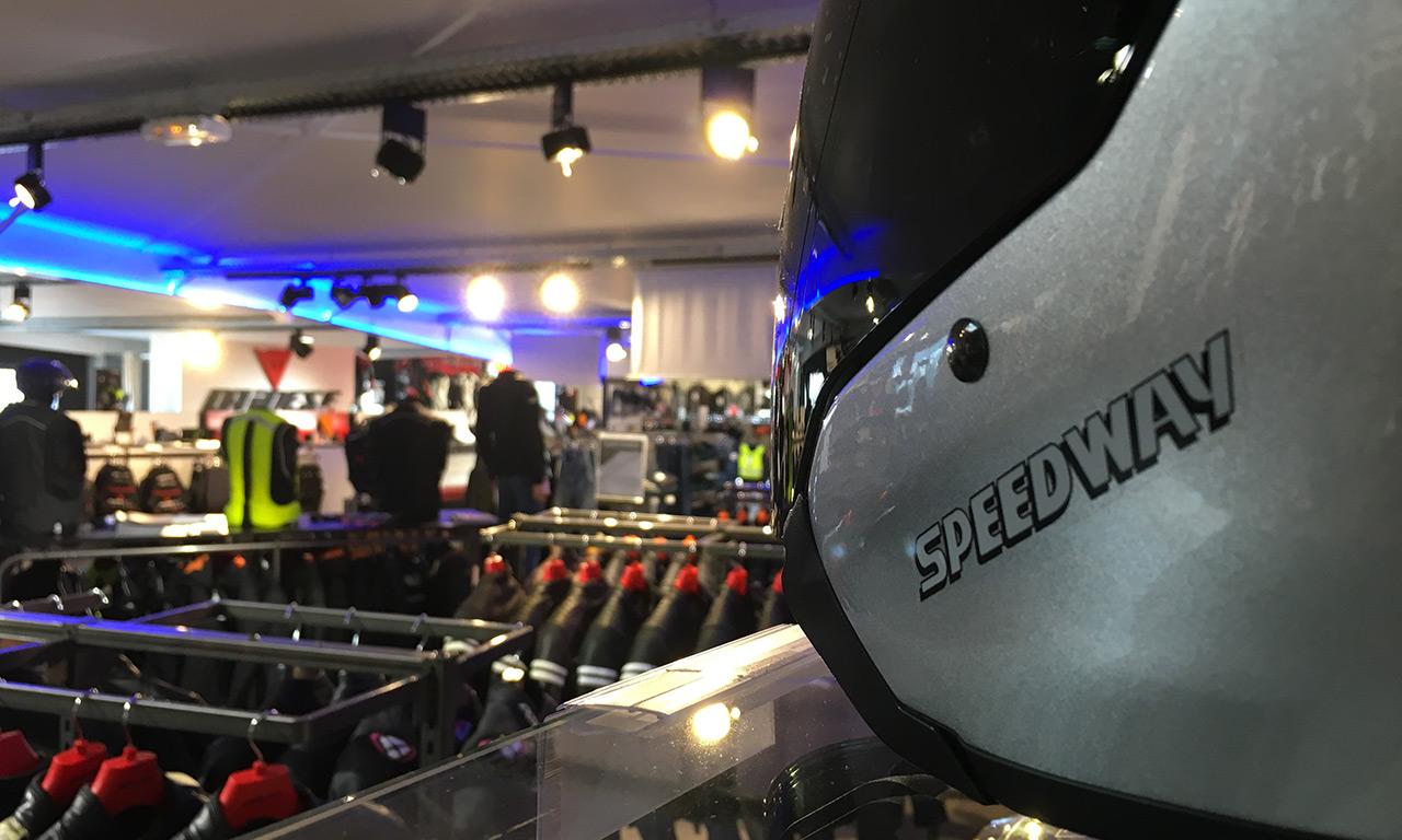 Acheter casque de moto : Speedway