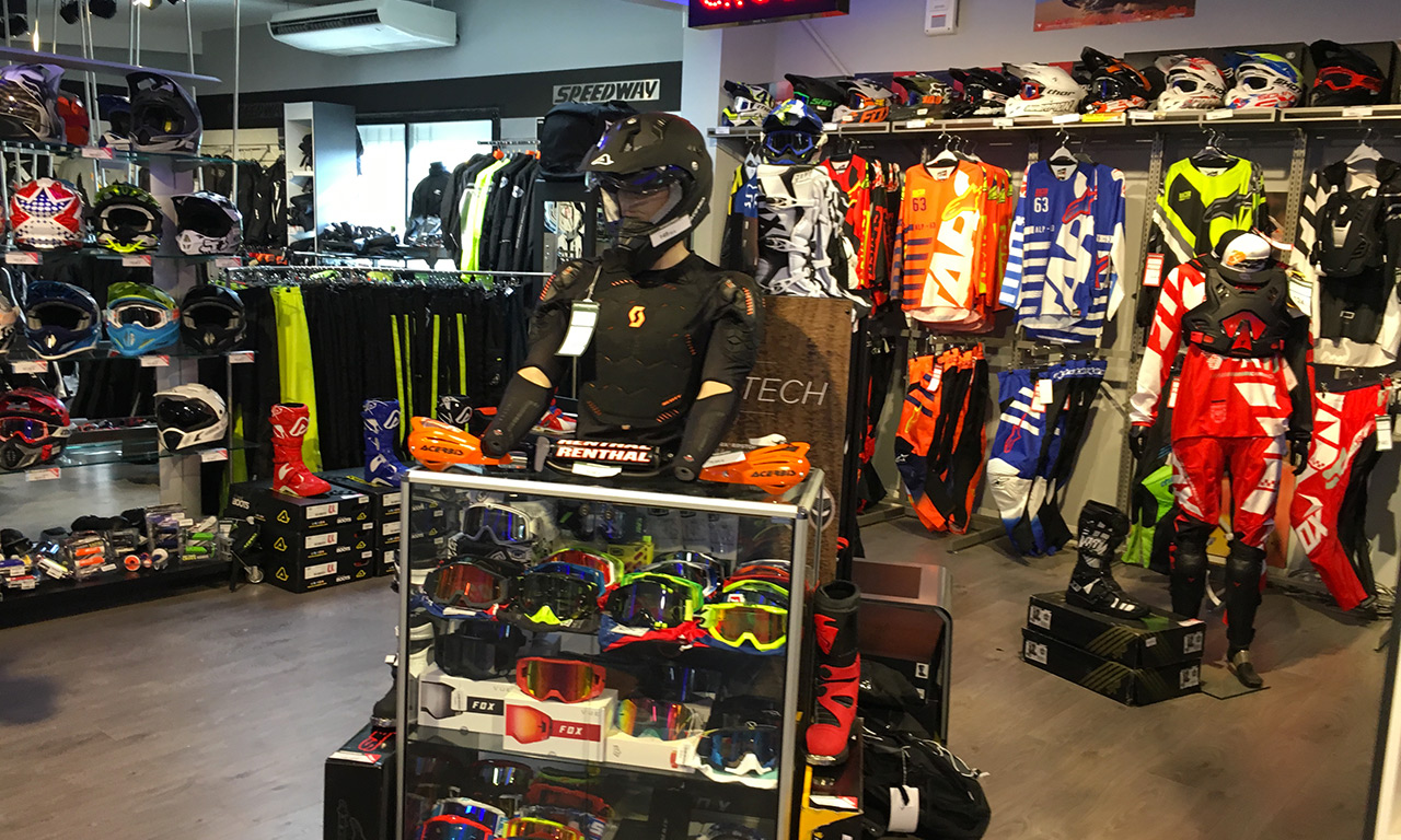 Moto cross et enduro chez Speedway