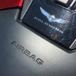 Airbag sur une moto