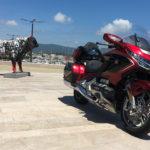 essai moto Honda Goldwing 2018 - La Ciotat