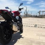 moto honda CB1000R sur Marseille