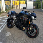 Nouvelle moto de David Jazt : Triumph Speed Triple 1050 RS