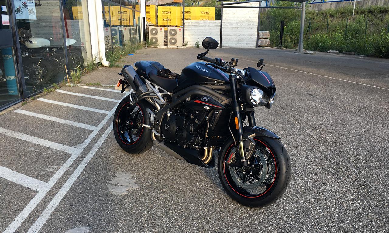 Nouvelle moto de David Jazt : Triumph Speed Triple 1050 RS
