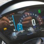 tableau de bord du Speed Triple RS
