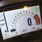 Tableau de bord du Speed Triple RS de David Jazt