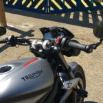 Au guidon du Street Triple RS