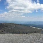 vue depuis le Mont Ventoux à moto