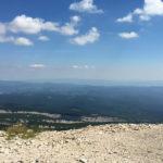 Vue depuis le haut du Mont Ventoux
