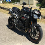 Speed Triple RS 2018 (vue de devant)