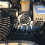 moteur 1200cc sur le T120 Bonneville