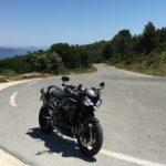 balade moto en groupe à Marseille