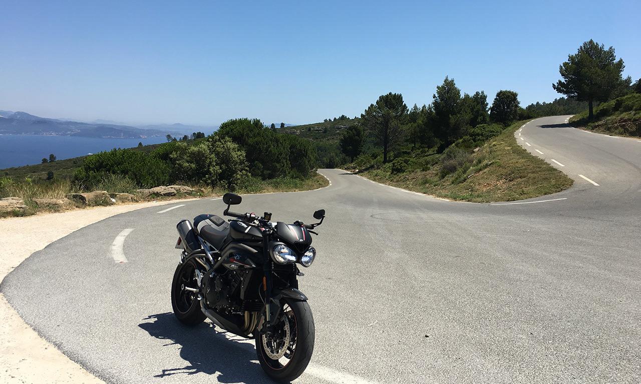 balade motarde autour de Marseille