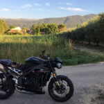 Balade moto en Speed Triple RS autour de Marseille