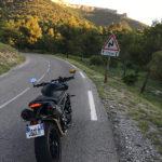 Le pays du virages pour le motard Marseillais