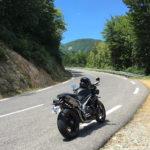 route à virage : parfait pour les motards