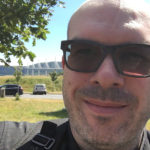 David Jazt au Viaduc de Millau
