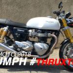 Essai moto en vidéo par David Jazt : Triumph Thruxton R