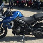 moto Triumph Tiger 800