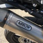 Echappement Arrow sur le Triumph tiger 800 : il ne sert à rien