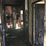 le désastre après l'incendie sur la Canabière