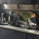 vue sur la cuisine