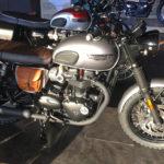 Bonneville T120 préparée chez Triumph Provence