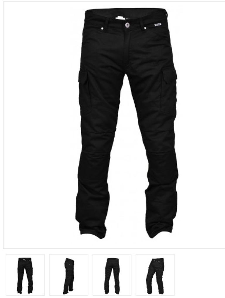 Pantalon Vstreet Touareg Cargo - noir
