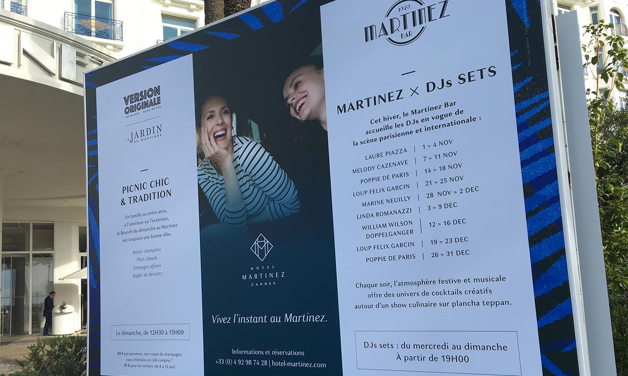 Bruncher au Martinez : Cannes