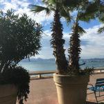 La Croisette, bord de mer Cannes