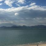 Vue mer depuis Cannes