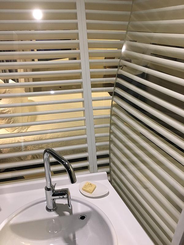 vue depuis la salle de bain Okko Hotel Cannes